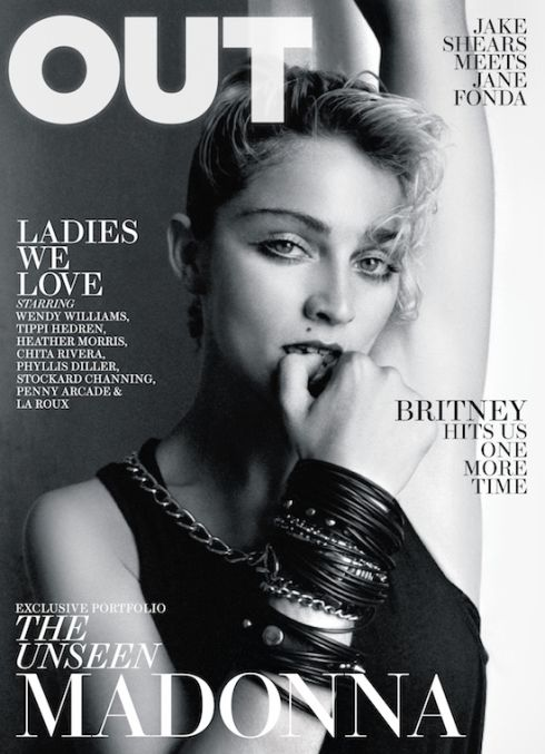 Madonna OUT Cover
