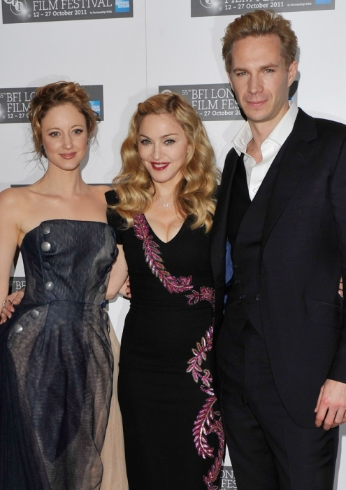 Madonna zur W.E.-Premiere in London