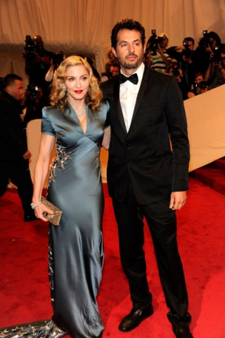 Madonna mit Guy Oseary