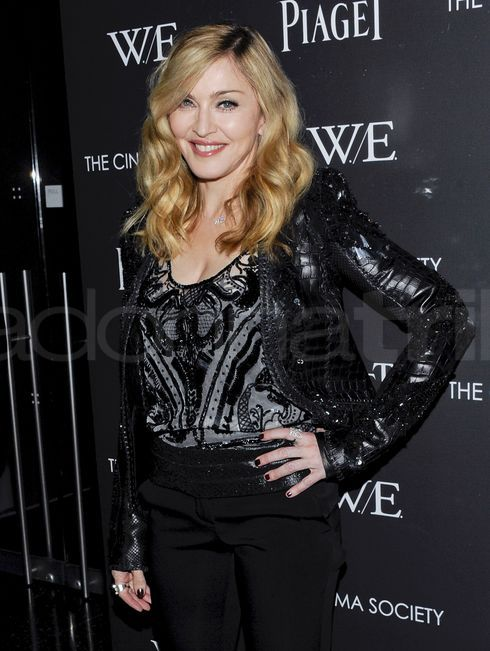 Madonna prsentiert W.E. in New York