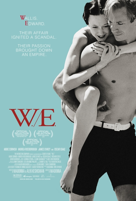 Offizielles Filmplakat von W.E.