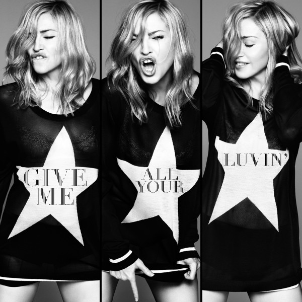 Single Cover zu Give Me All Your Luvin'