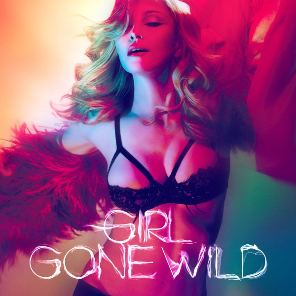"Madonnas ""Girl Gone Wild"" Single Cover"