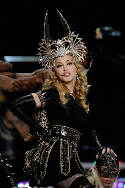 Madonna beim Super Bowl 2012