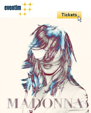 Madonna-Tickets bei Eventim