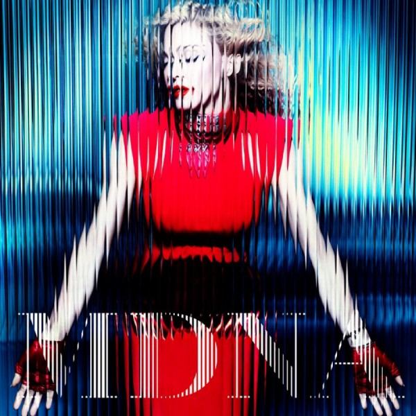 Cover der Standard Version von &quot;MDNA&quot;