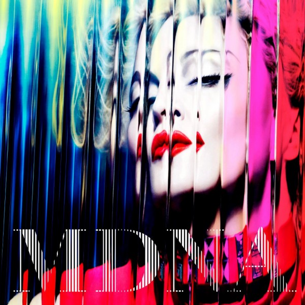 "Cover der Deluxe Version von ""MDNA"""